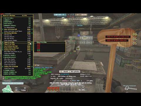 Hack CF - Vác 9A-91, Gatling Gun Bắn Zombie V4