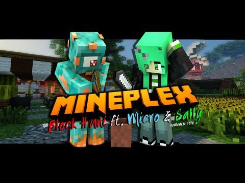 Mineplex Block Hunt w/ Micro & Sally: Alphabet Challenge!