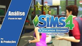 Análise The Sims 4 - Escapada Gourmet - Pacote de Jogo
