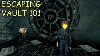 ESCAPING VAULT 101 | Fallout 3 #1