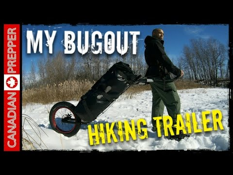 Bugout Hiking Trailer: Adventures with Monowalker | Canadian Prepper