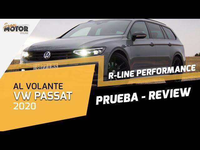 Al volante del Volkswagen Passat Variant R-Line Performance 2020 / SuperMotor.Online / T5 - E04