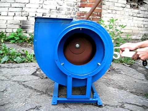 Вентилятор радиальный, промышленный