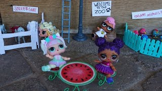 LOL SURPRISE DOLLS Go To The Zoo!