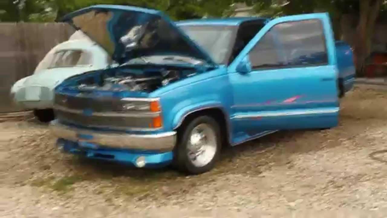 1992 Chevy C/K 1500 Custom - YouTube