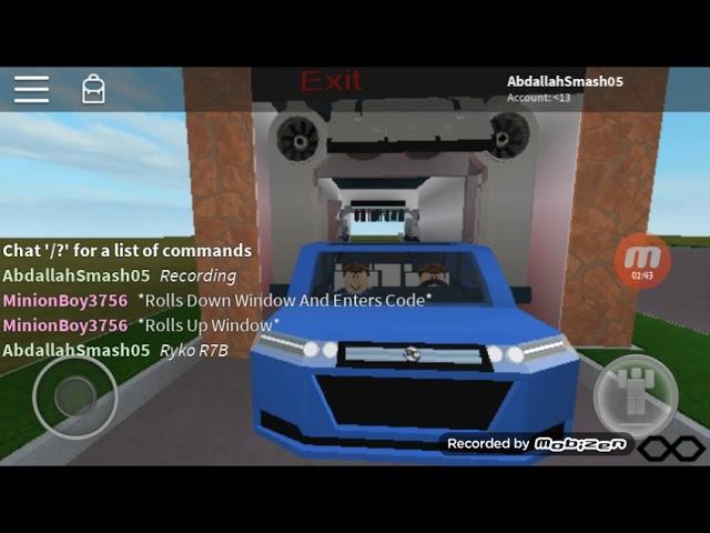 (Reupload) Roblox: Ryko R7B Car Wash/Texaco Car Wash