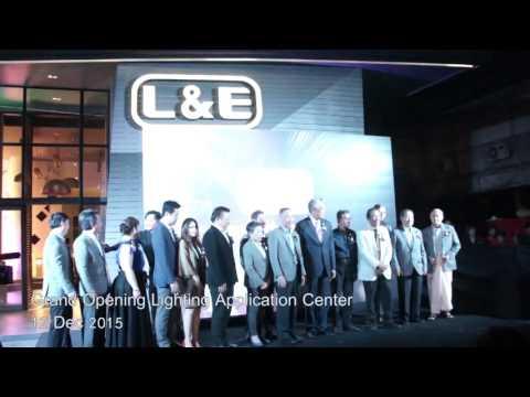 L&E Grand Opening Lighting Application Center MYANMAR