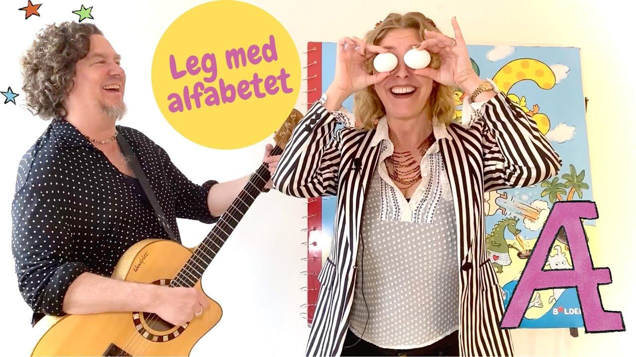 Bogstav Æ - Lær alfabetet // ABC sangen på dansk med Sille og Palle
