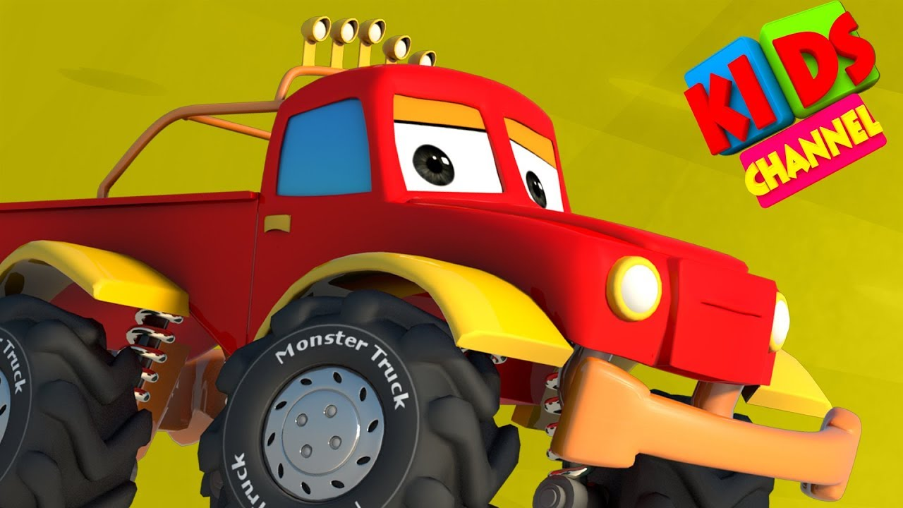 Cars For Kids | Vehicle Cartoon Videos -  Live Stream From Kids Channel