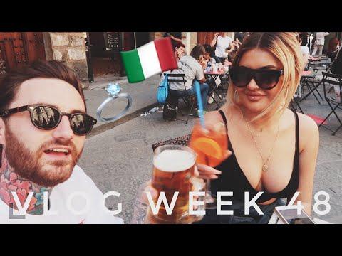 VLOG WEEK 48 - WEDDING VENUE HUNTING IN ITALY   JAMIE GENEVIEVE