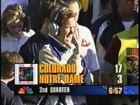 #4 Colorado Buffaloes vs. Notre Dame - 1995 Fiesta Bowl