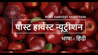 Watch | पोस्ट हार्वेस्ट न्यूट्रीशन | भाषा - हिंदी | Lets Grow Apple