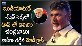 Chandrababu Ranks First In India Today National Survey || PM Modi || TFC News