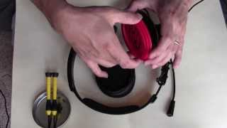 how to repair a turtle beach p11 headset mic problem part 1