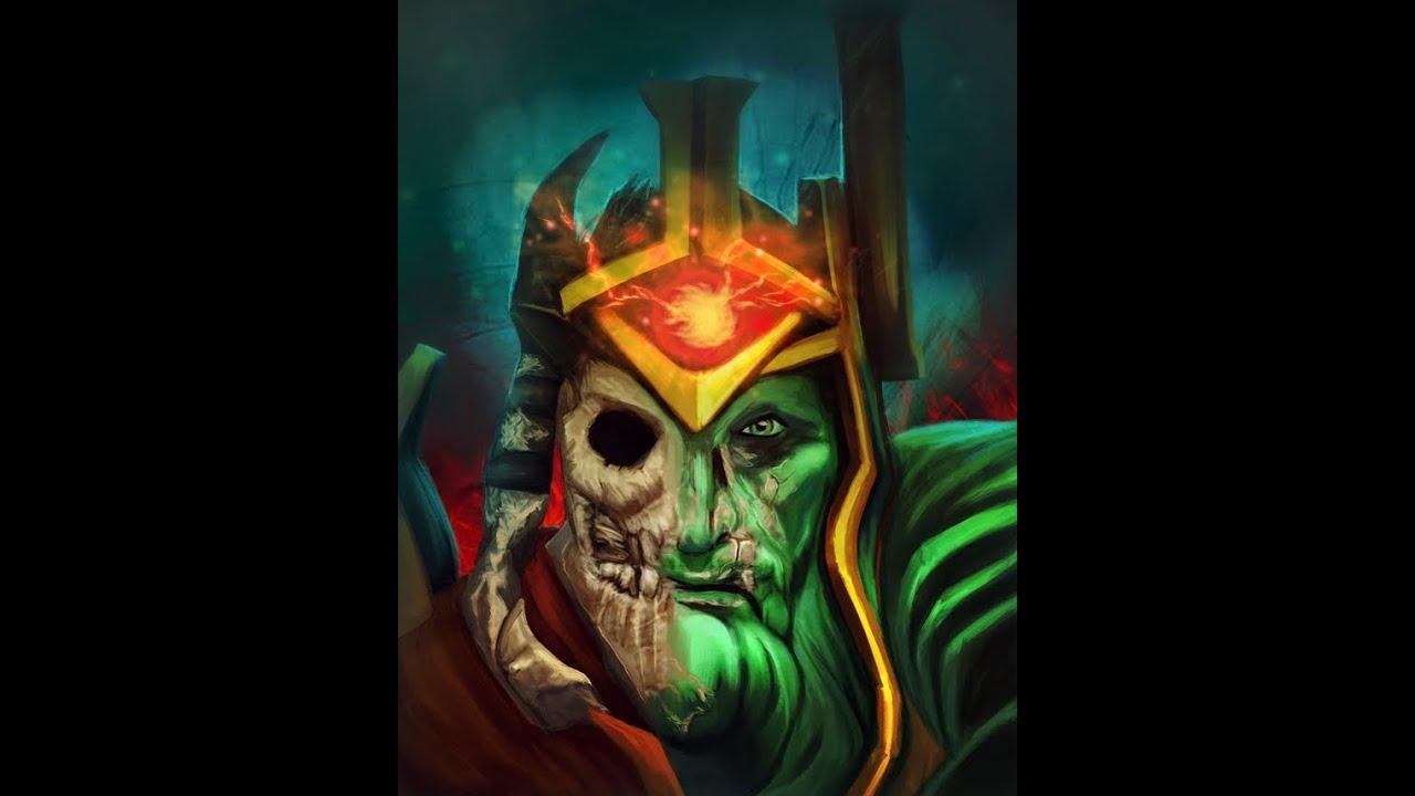 dota 2 wraith king short pro play youtube