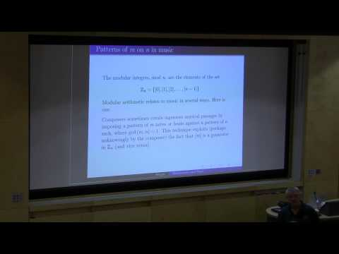 HC 2013 - David Wright - Music and Maths