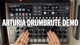 Arturia DrumBrute Analog Drum Machine Demo