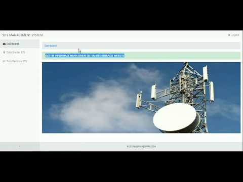 Sistem Riset Software BTS Monitoring Berbasis Website
