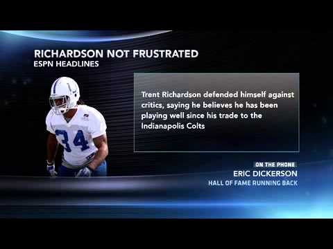 Trent Richardson Stats, News, Videos, Highlights, Pictures, Bio   Indianapolis Colts