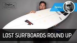 Lost Surfboards Round Up Surfboard Review - Futures Fins EA Quads no.154 - Compare Surfboards