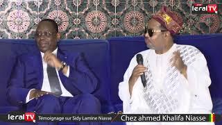 Condoléance : Les témoignages de Macky Sall chez Sidy Lamine Niasse