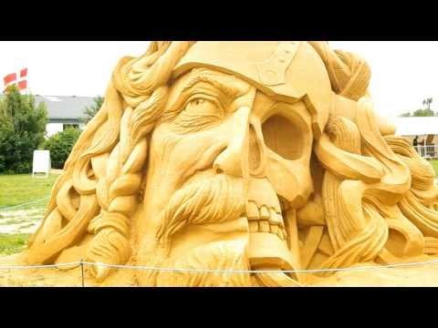 Carving Festival in Blokhus, Denmark 2013