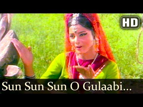 Sun Sun Sun O Gulaabi Kali (HD) | Sawan Bhadon Songs | Navin Nischol | Rekha | Filmigaane