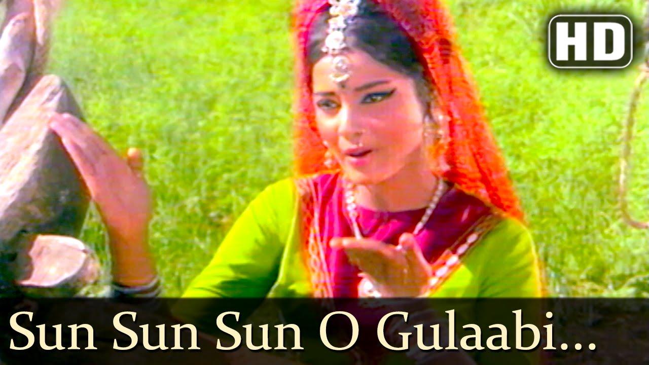 Download Sun Sun Sun O Gulaabi Kali (HD)   Sawan Bhadon Songs   Navin Nischol   Rekha   Filmigaane