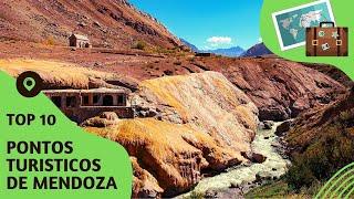 10 pontos turisticos mais visitados de Mendoza