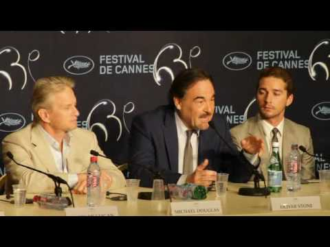 Oliver Stone - Wall Street - Cannes Festival