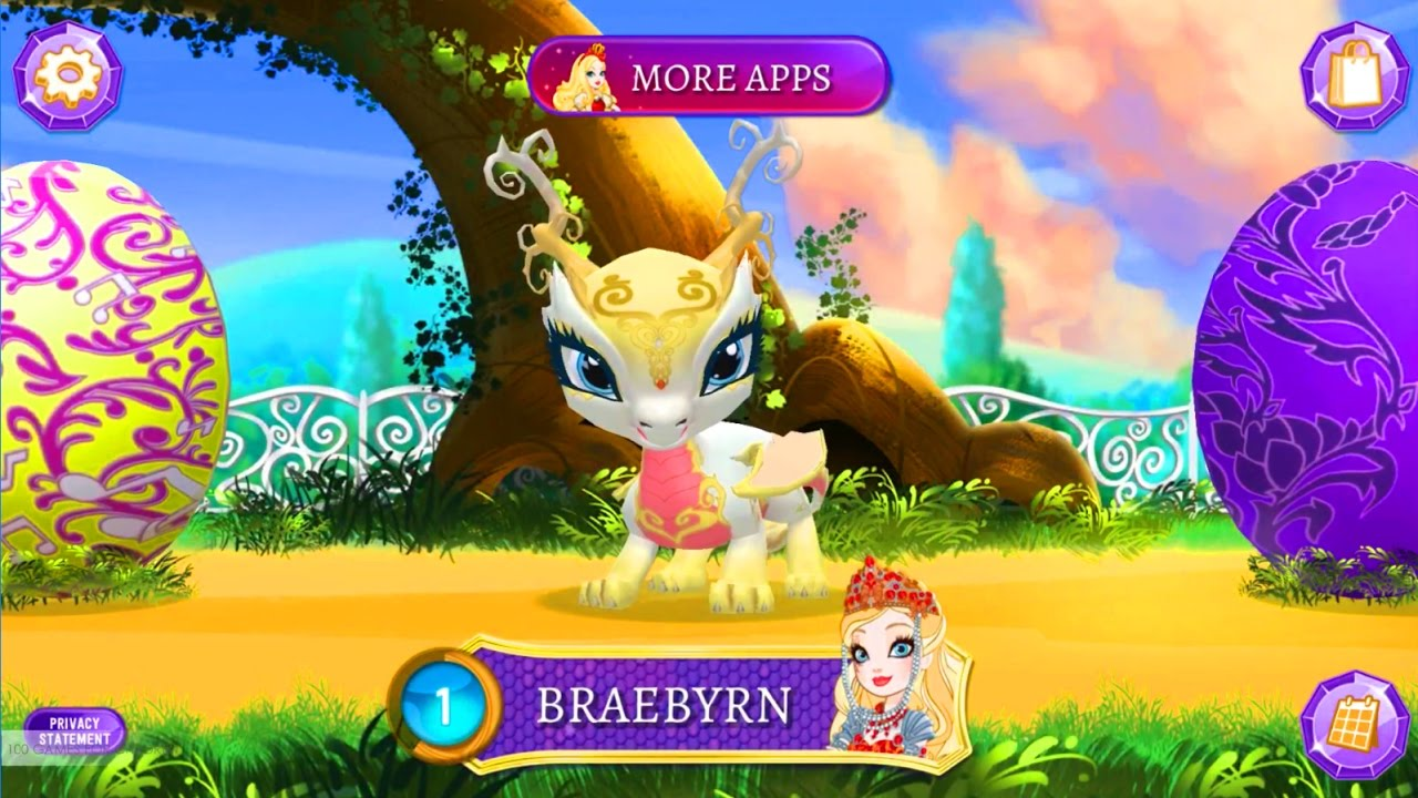 Ever After High Baby Dragons | Game for Kids Android ...