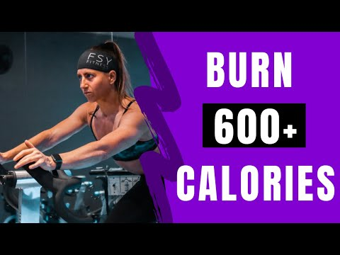 Calorie Crushing Spin Class // Indoor Cycling Home Workout