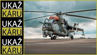 4K | ARMY SPECIÁL #1 | BITEVNÍ VRTULNÍK MIL MI-24V | 4 500 KONÍ | ZVLÁDNOU TO NAŠE ŽALUDKY?