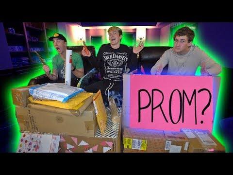 I GOT ASKED TO PROM THROUGH FANMAIL WHAT SHOULD I DO?