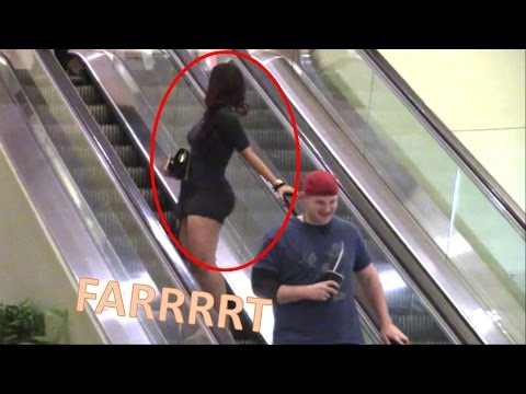 WET FART PRANK!!! (Feat. The Escalator!!) Sharter Saturdays S1• Ep. 49!!!