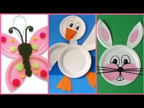 Beautiful disposable plates craft ideas