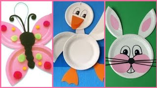 Beautiful disposable plates craft ideas