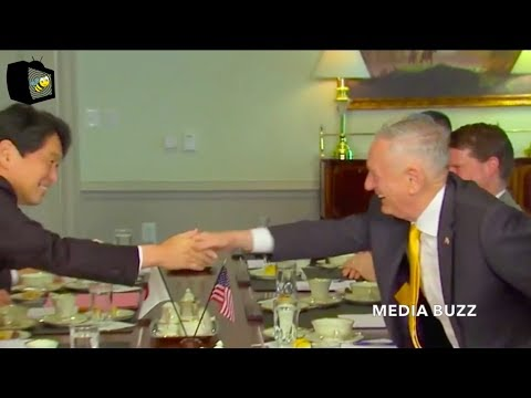 Defense Secretary Mattis Meets with Japanese Defense Minister 4/20/18