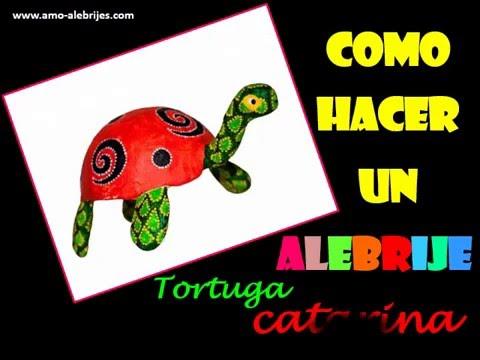 Como hacer un alebrije tortuga catarina paso a paso http for Como elaborar un periodico mural