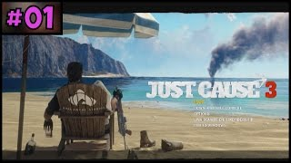 Just Cause 3 100% Complete - Part 1 - PC Gameplay Walkthrough - 1080p 60fps