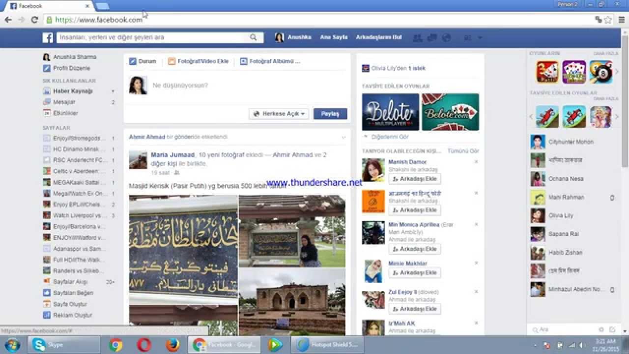 facebook hayran sayfası nasıl açılır 2015
