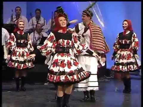 Dans De Oas Cu Ansamblul Cindrelul Junii Sibiului Youtube