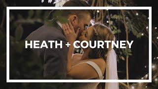 Heath + Courtney | A Wedding Film | Diamond V Farm