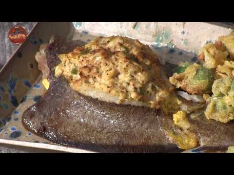 Crab Stuffed Flounder 1-Minute Recipe