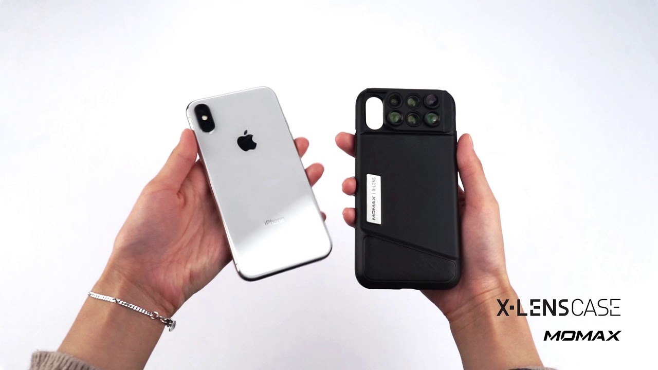 the best attitude 8be52 064e1 MOMAX - iPhone X 6-in-1 Lens Case - Unboxing and Effect (ENG)