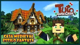 DICAS DE CONSTRUÇÃO:  A Casa Medieval mais Bonita do Minecraft