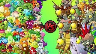 Plants vs Zombies 2 Final Boss - PvZ 2 All Zomboss vs PvZ 2 All Plants