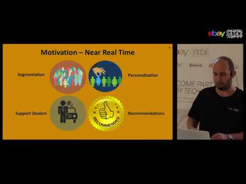 42nd eBay Tech talk in Berlin: I. Mazor - Calculating User Profiles in Real Time (July 27th, 2017)
