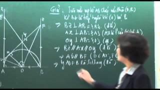 Mở đầu về Chuyên đề Đường tròn - phần 5 - Toán 9