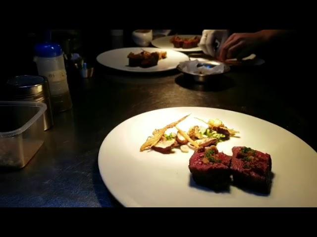 ????, ????, ?? ?? ????, fine dining plating, steak